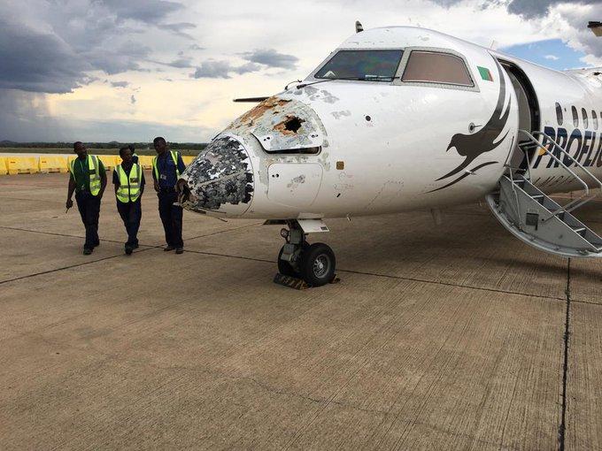 Plane Struck By Lightning2