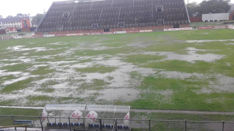 poor drainage system at Rufaro Stadium