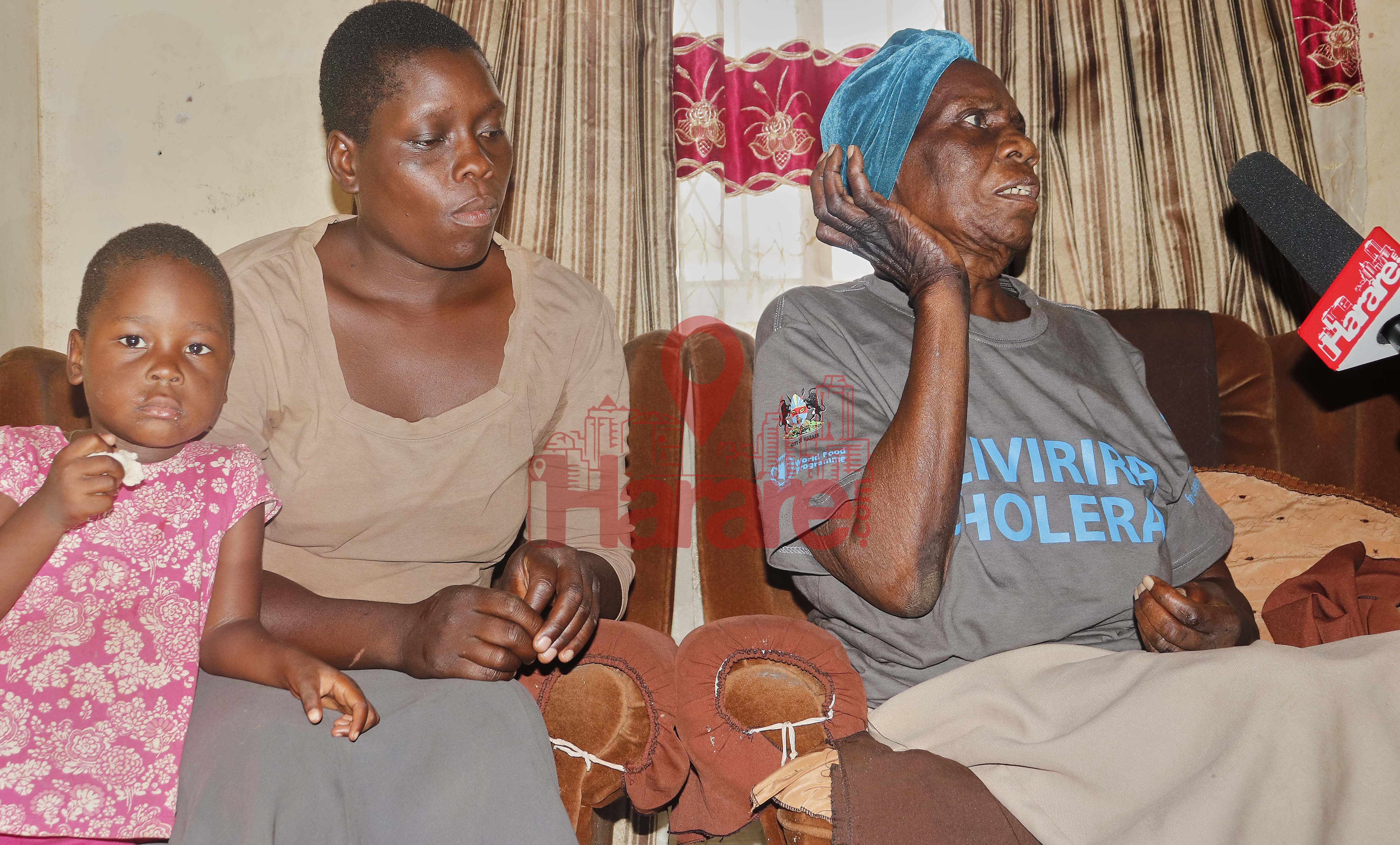 Rhoda Mtembe (Mai Sorobhi) & Daughter Charity