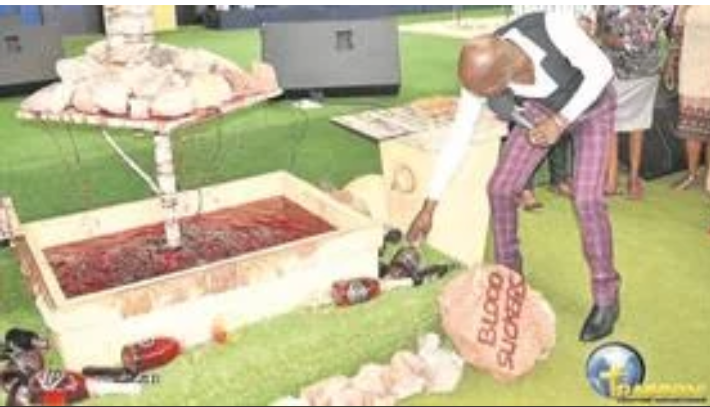 Pastor who made congregants eat grass back again