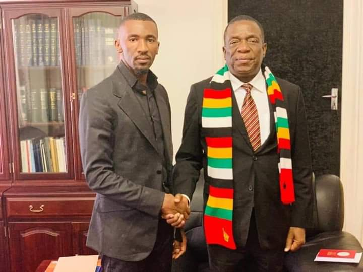 Prophet Passion Java with President Emmerson Mnangagwa. Passion java buys madam boss a car