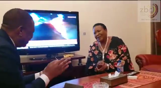First Lady Showed VP Chiwenga Respect