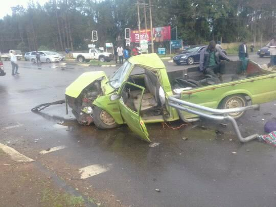 Accident on Borrowdale Road and Harare Driv