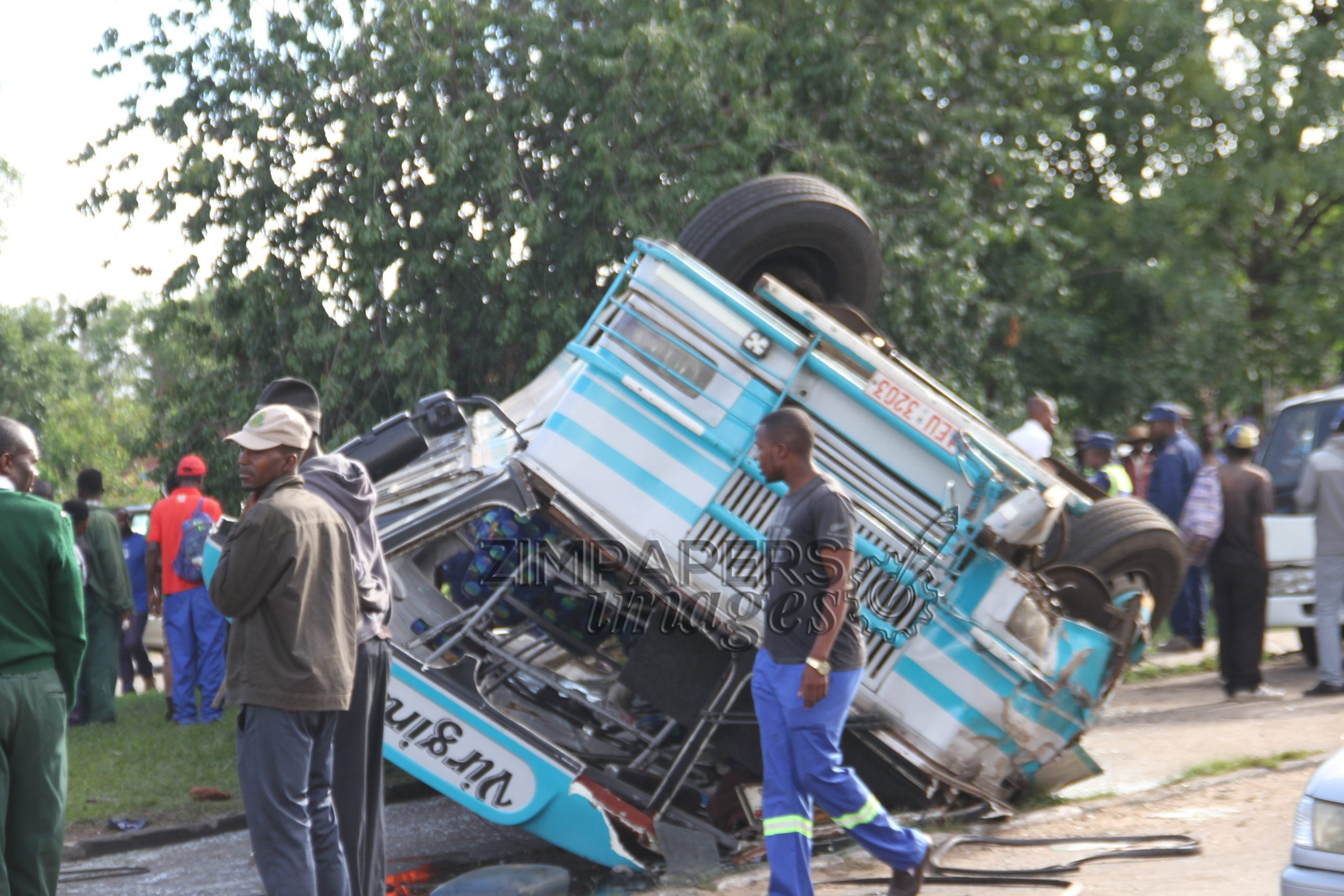 Two Killed In City Bus Accident