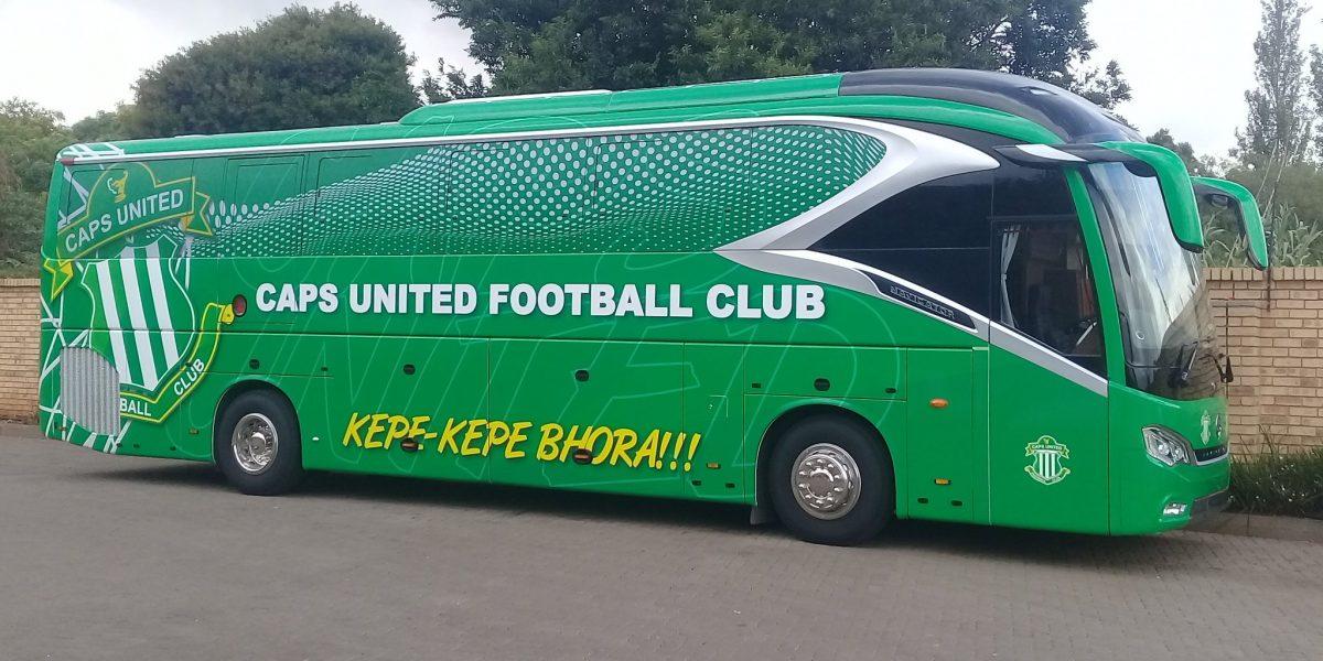 ZIMRA Finally Releases Caps United Impounded Bus Donated By Nyasha Mushekwi - iharare.com
