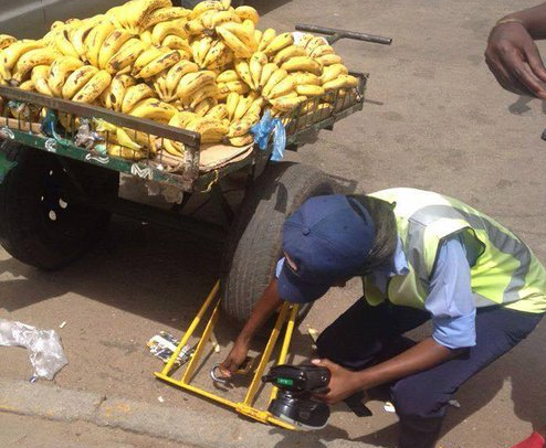 City Of Harare Clamping as New Clamping And Traffic Fines Gazetted