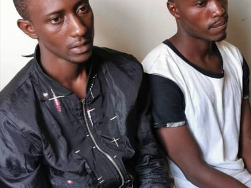 Notorious cellphone thieves captured & brought to book