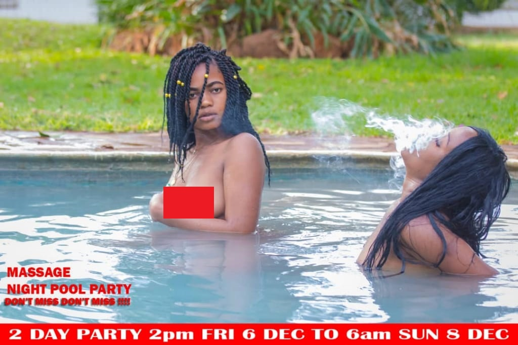 Harare Massage pool party flops