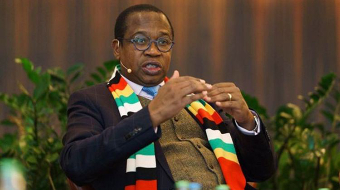 Mthuli Ncube in Self Quarantine