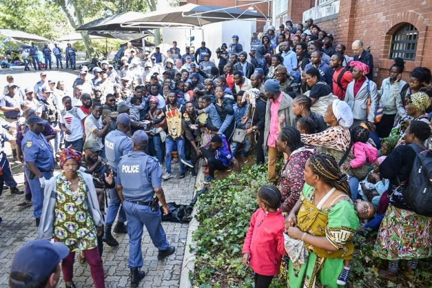 Capetown To Deport Foreigners currently living at Methodist Church
