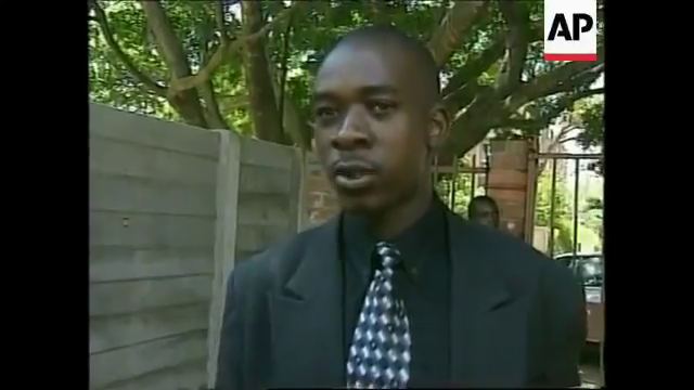 Young Nelson Chamisa in 1998