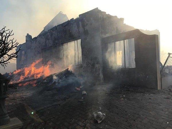 Black Market Fuel Dealer's House Goes Up. In Flames,
