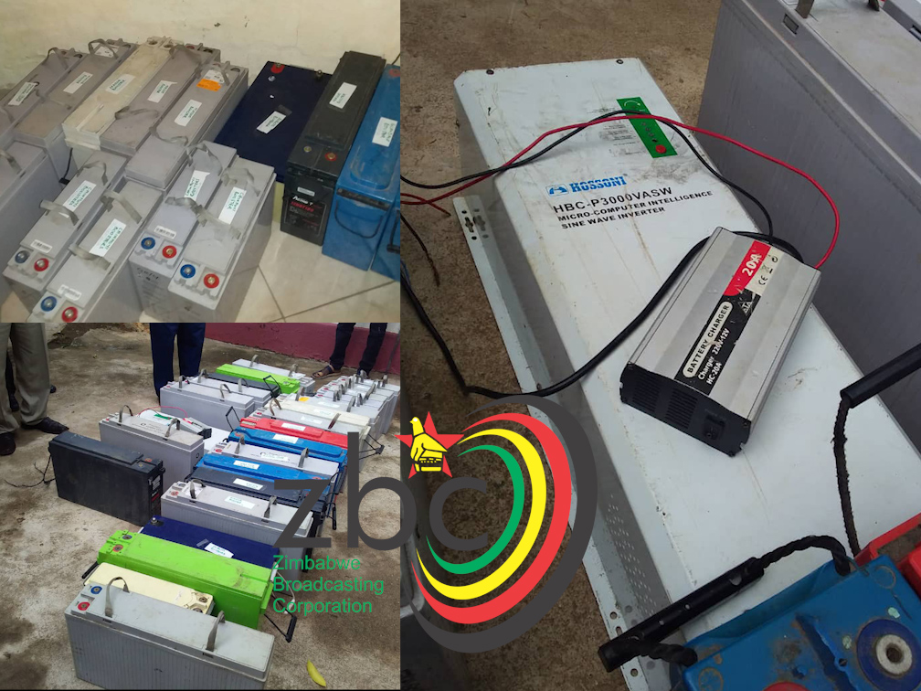 Police Recover 37 Solar Batteries Stolen At Network Boosters