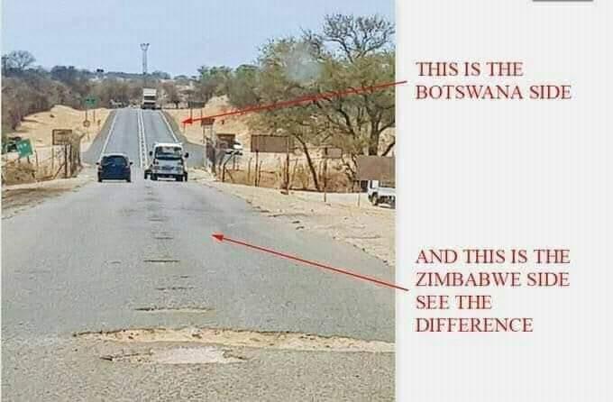 Zim Road VS Botswana Road
