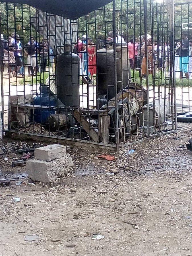 Chinhoyi Shopping Center Gas Explosion