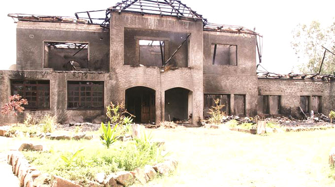 Senior Military Officer's Home Gutted By Fire During Heavy Storm