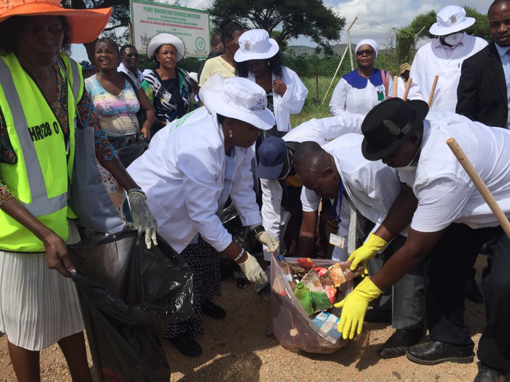 First Lady National Clean Up