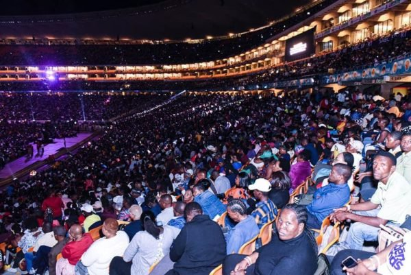 Prophet Bushiri fills up stadium