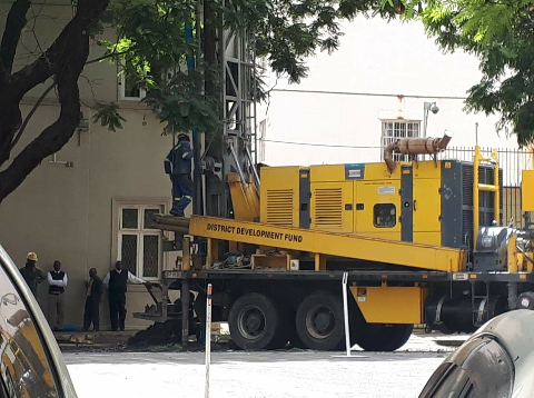 Zimbabwe Parliament Sinks Boreholes In CBD