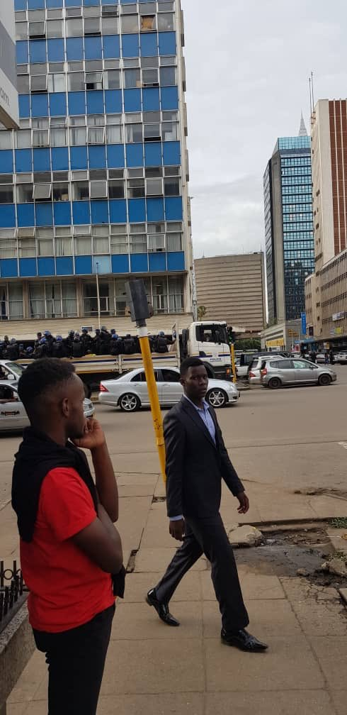 Police BLITZ At MDC Headquarters