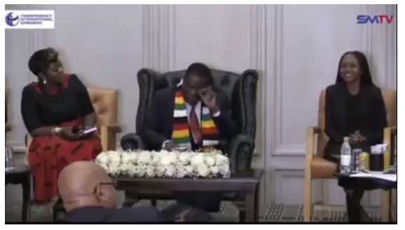 Priceless Look On Mnangagwa's Face
