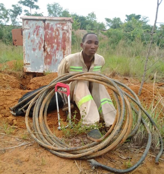 Soldier Busted Stealing NRZ Cables...