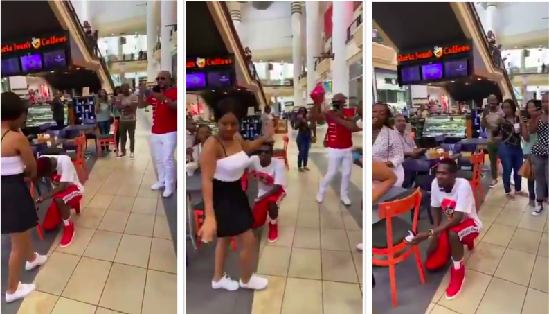 Valentine Goes Wrong As Bae Rejects Marriage Proposal In Public