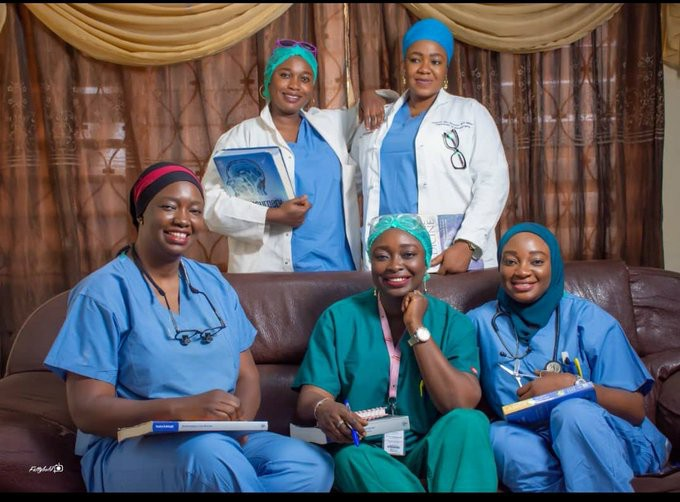Meet The Aliu Family where All 5 Sisters Are Medical Doctors