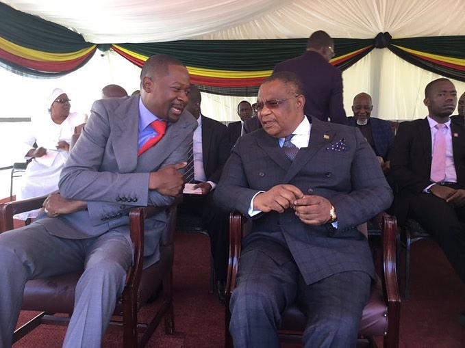 Prophet Makandiwa 'Preaches' To VP Chiwenga