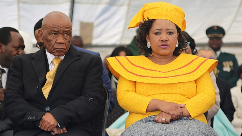 Lesotho's First Lady Hands Self To Police Over Murder