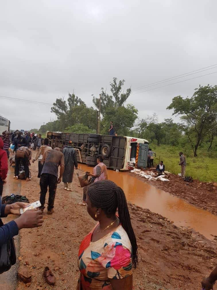 Zupco Bus Injures 27 In Beatrice Accident