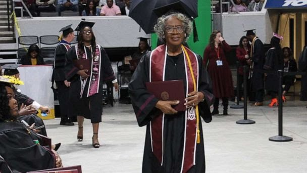 80 Year Old Alabama Granny Graduates
