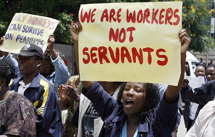 """Be Realistic"": Govt Tells Off Civil Servants"