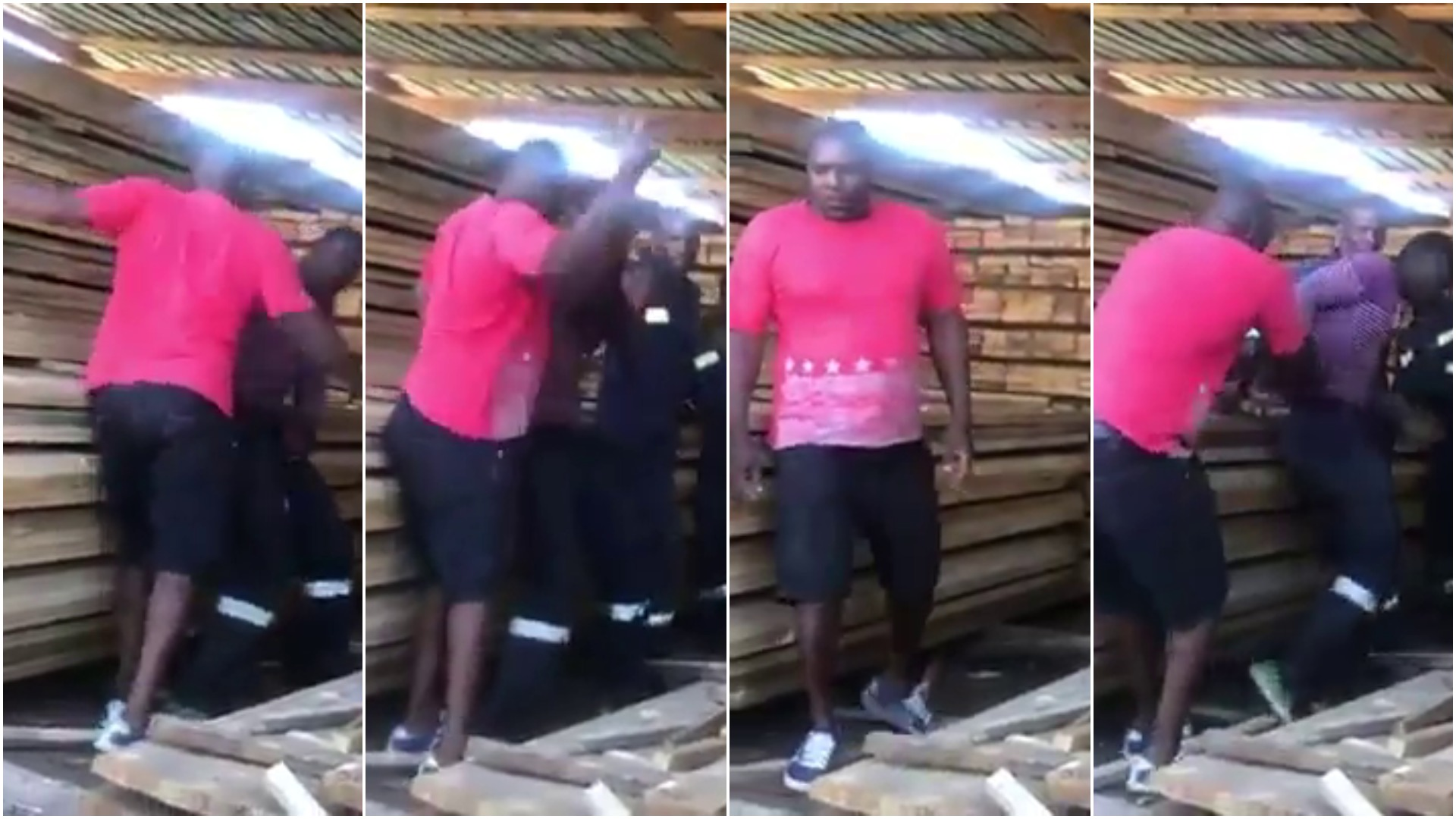 Leaked Video Of Boss Assaulting Employee Causes Outrage