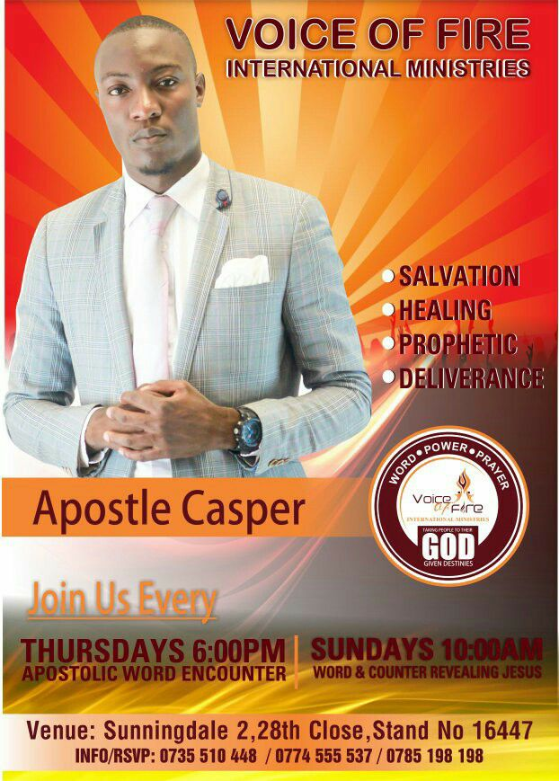 Apostle Casper Bonga Threatens Ex-Wife With Violence