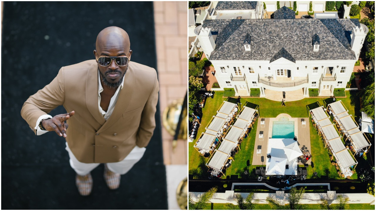 DJ Black Coffee's Exclusive Luncheon