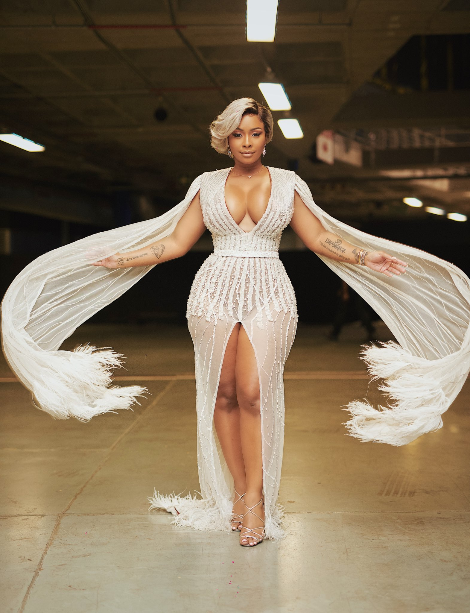 Boity Thulo Shows OFF Curves