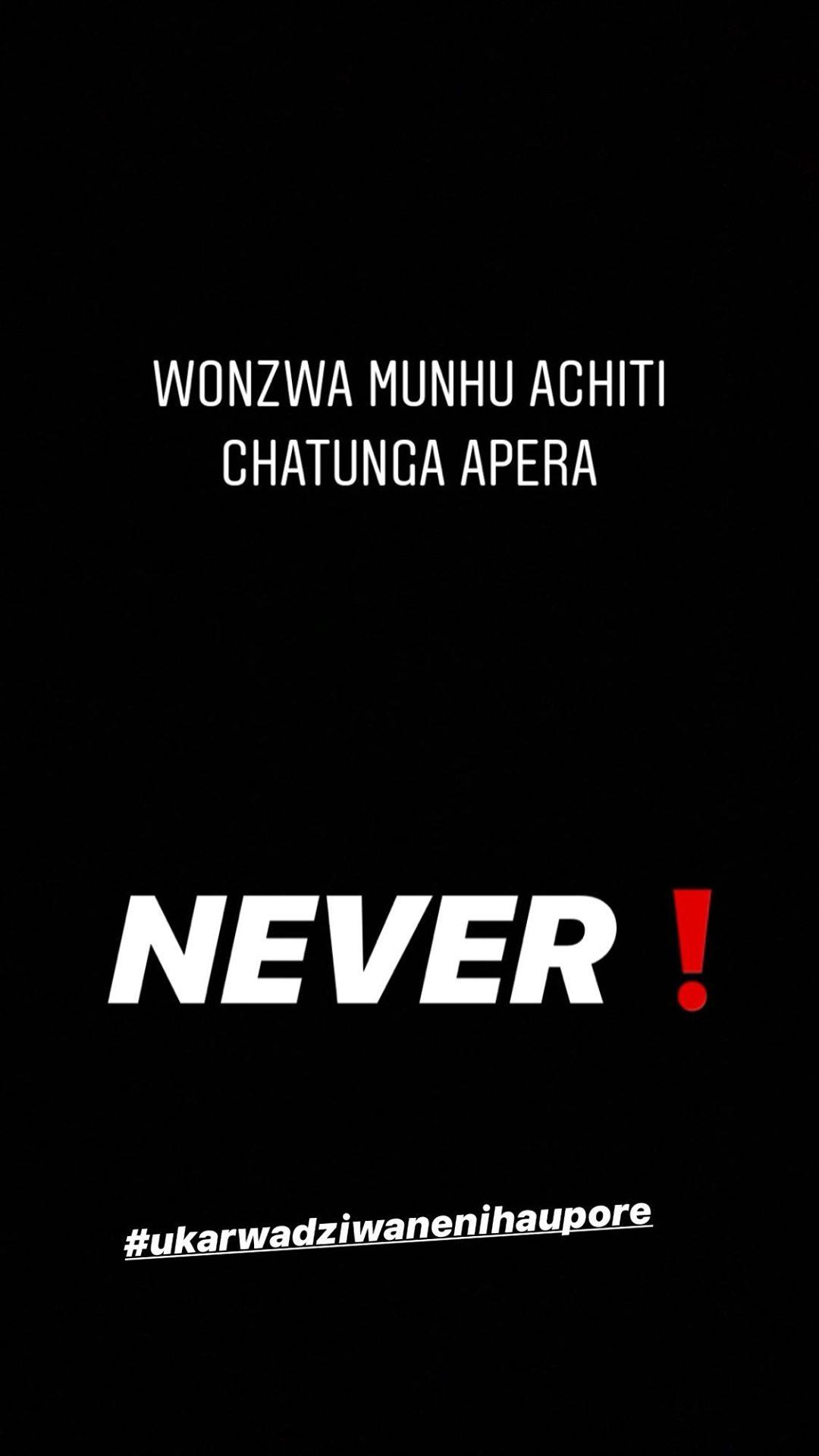 Chatunga denies going broke