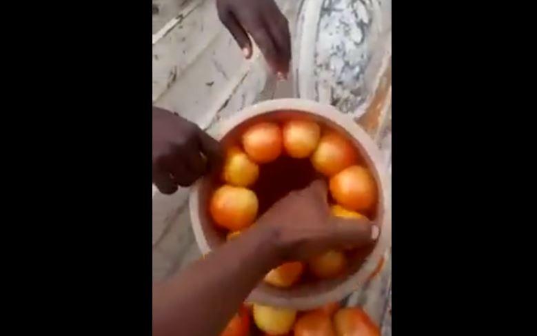 Deceptive vendor caught on camera