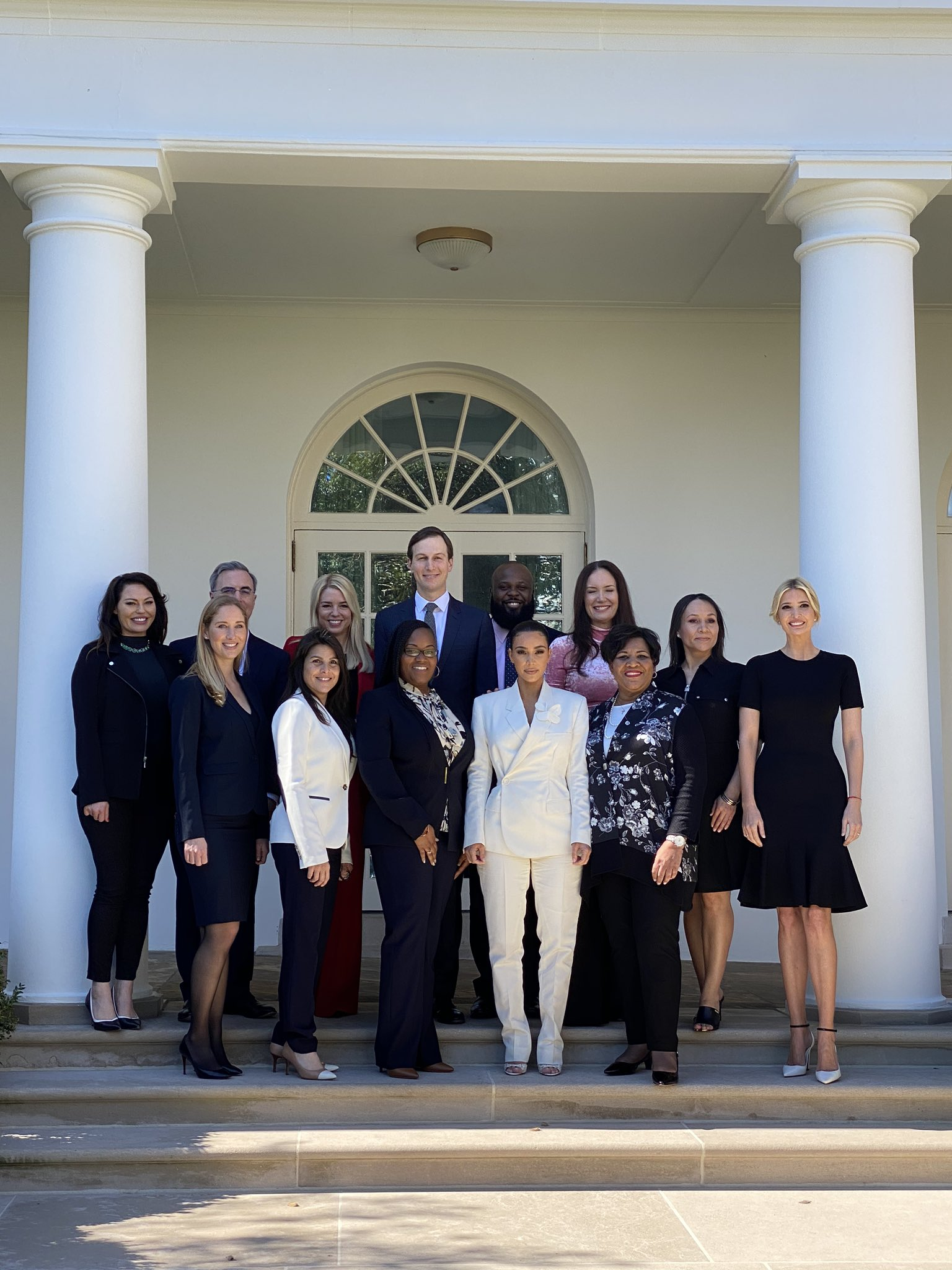 Kim Kardashian At White House With Women She Helped Free From Prison