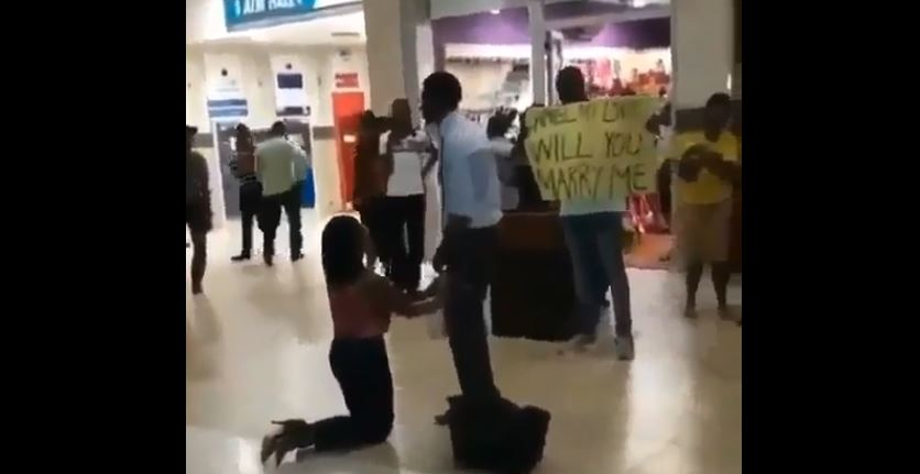 Woman's Marriage Proposal Rejected