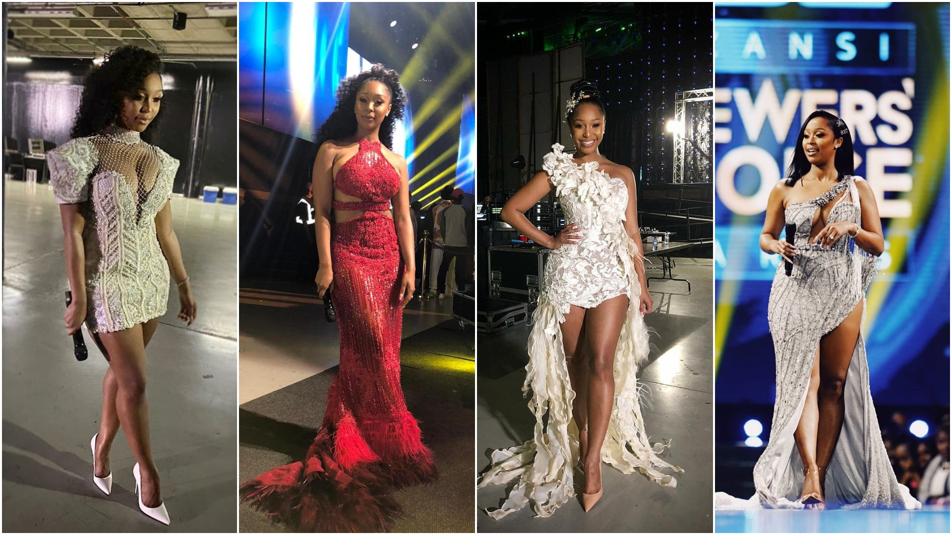 Minnie Dhlamini's 8 Stunning Dresses At DStv Awards