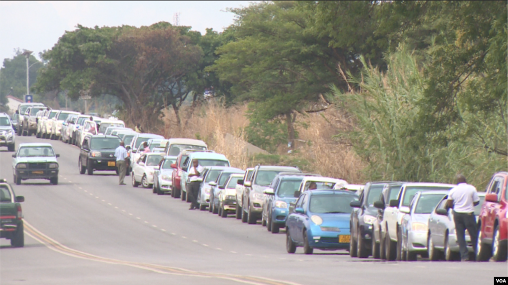 Fuel Shortage In Zimbabwe