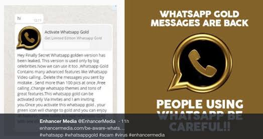Is whatsapp gold real