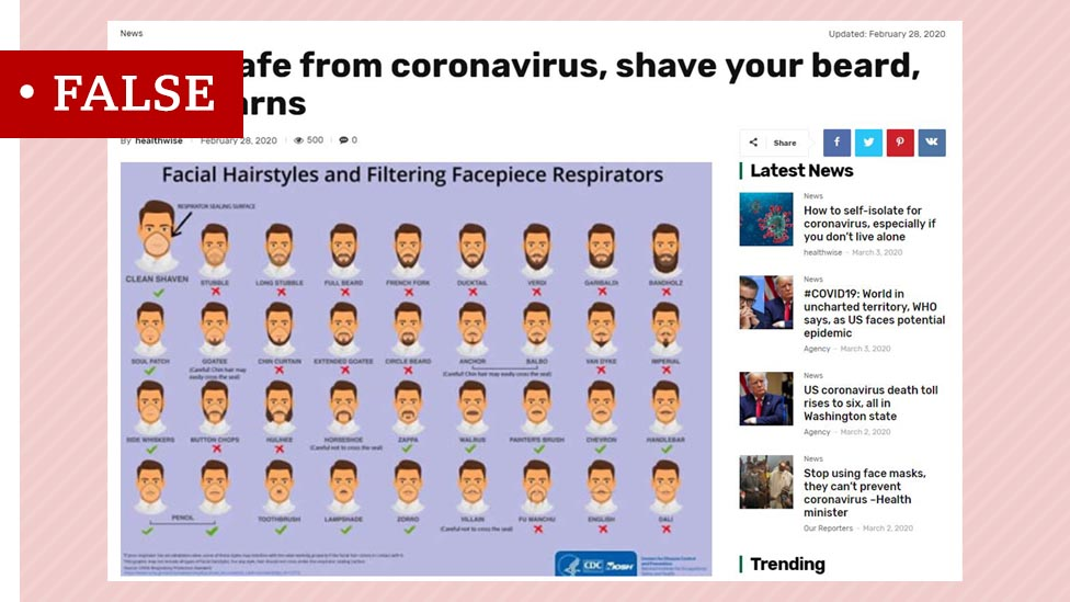 Coronavirus Misinformation Going Viral