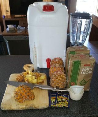 Easy Pineapple beer