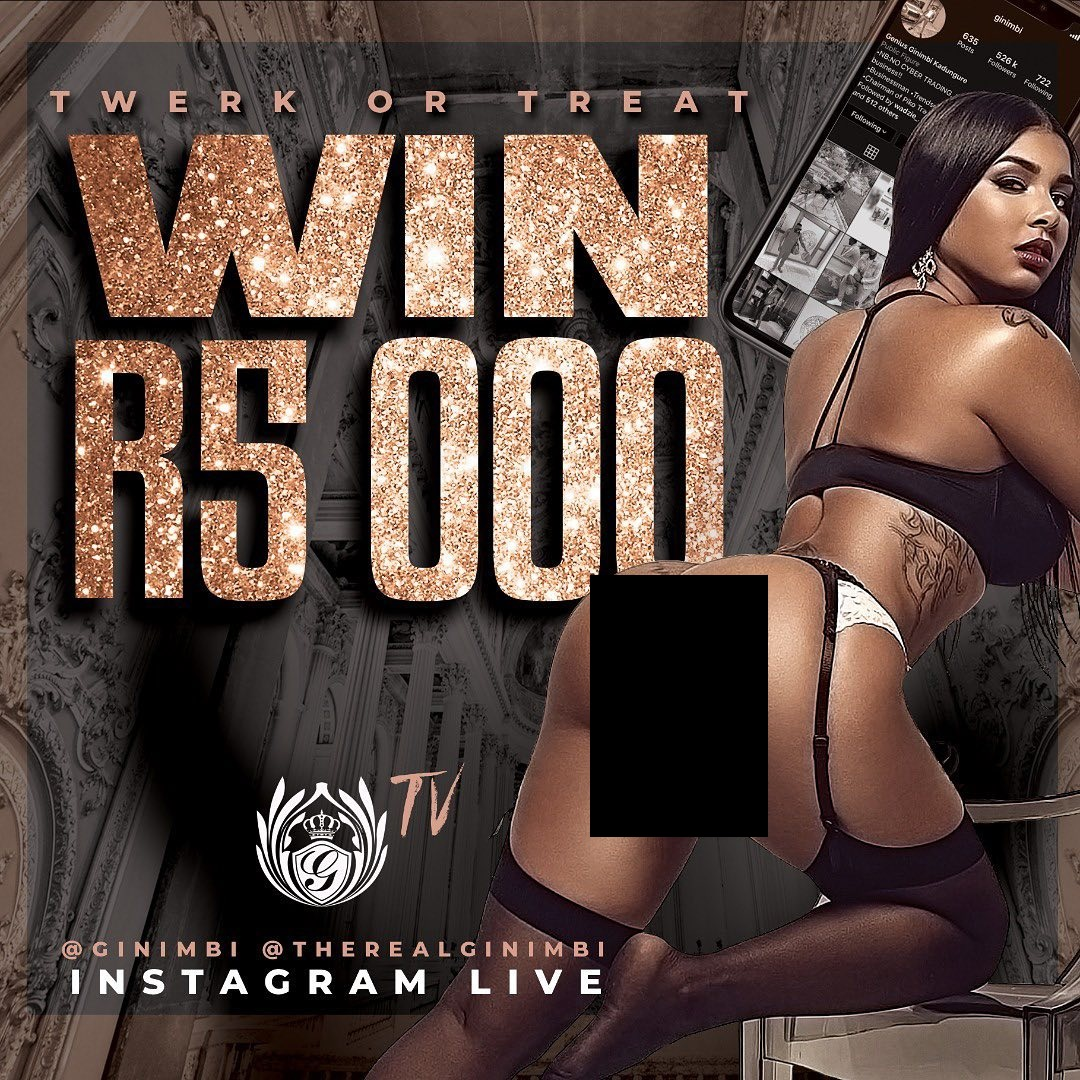 Ginimbi Holds R5000 'Twerk Or Treat' Competition