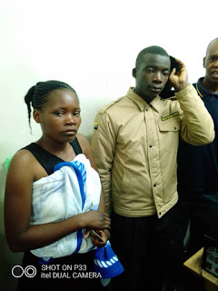 Security Guard Busted Using Wife To Steal