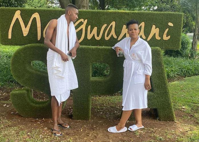 Zodwa Wabantu's lockdown romance