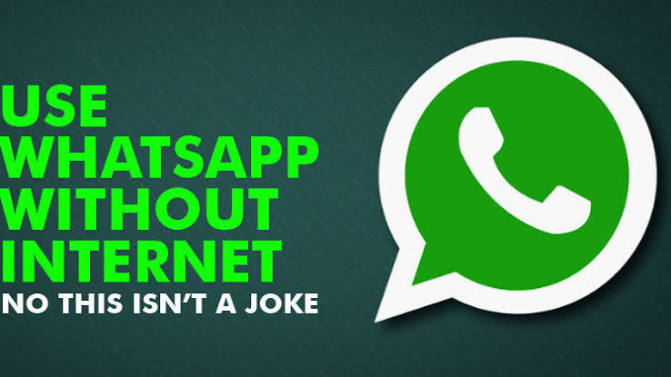 Send whatsapp messages without data
